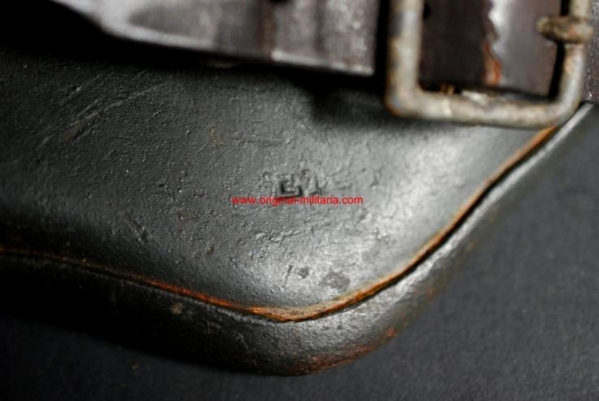 Casco M1918 Doble Calca de Caballería para la Feldgendarmerie, ET64